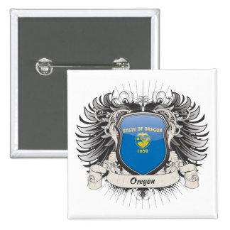 Oregon Crest Pinback Button
