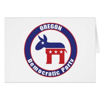 Oregon Democratic Party Card