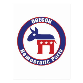 Oregon Democratic Party Postcard