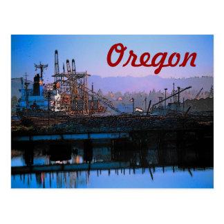 Oregon Docks Postcard