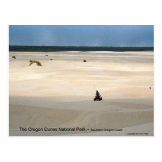 Oregon Dunes National Park 4 Wheeler Photo Art Postcards