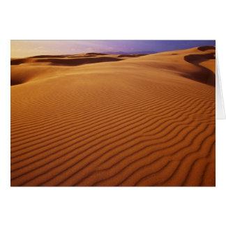 Oregon Dunes National Recreation Area, Oregon at Card