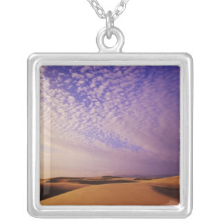 Oregon Dunes National Recreation Area, Oregon Silver Plated Necklace
