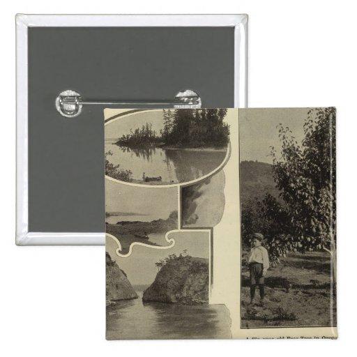 Oregon, en donde cada perspectiva satisface pin cuadrada 5 cm