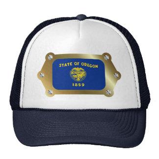 Oregon enmarcó el gorra de la bandera