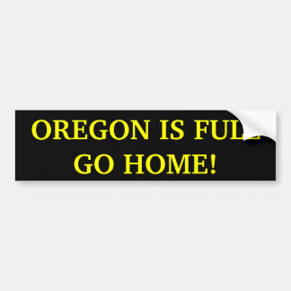 ¡Oregon es va a casa por completo! Pegatina para e Pegatina Para Auto