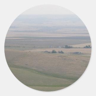 Oregon Farmland Classic Round Sticker