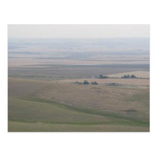 Oregon Farmland Postcard