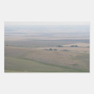 Oregon Farmland Rectangular Sticker