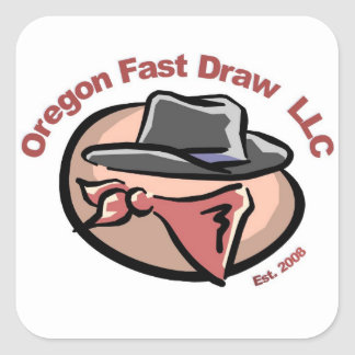 Oregon Fast Draw Stickers