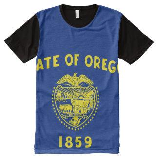 Oregon flag All over print shirt
