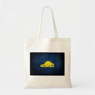 Oregon Flag (back) Tote Bag