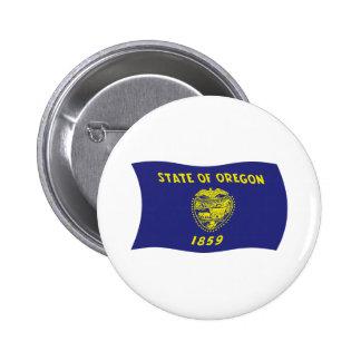 Oregon Flag Button