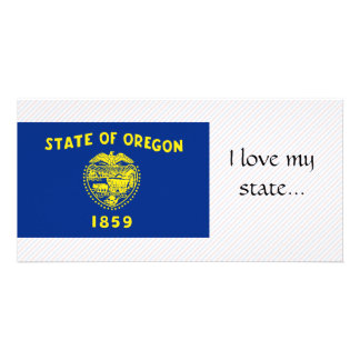 Oregon Flag Card