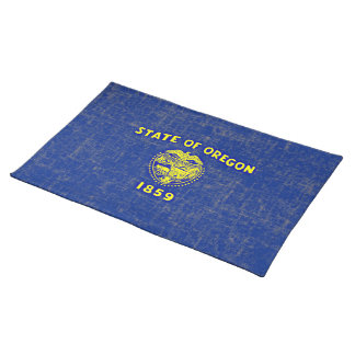 OREGON FLAG CLOTH PLACEMAT