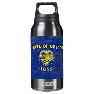 OREGON FLAG INSULATED WATER BOTTLE