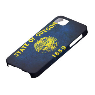 Oregon Flag; iPhone 5 Case