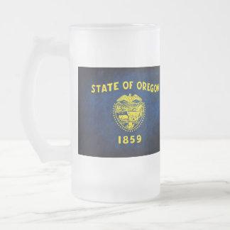 Oregon Flag; Mug