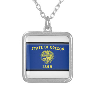 Oregon flag pendant