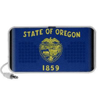 Oregon flag notebook speakers