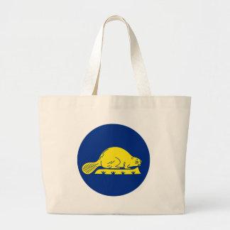 Oregon Flag Theme 01 Tote Bags