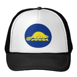 Oregon Flag Theme 01 Trucker Hat