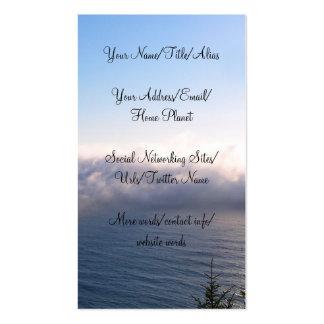 Oregon Fog Business Cards