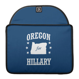 OREGON FOR HILLARY MacBook PRO SLEEVES