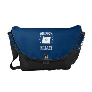 OREGON FOR HILLARY MESSENGER BAG