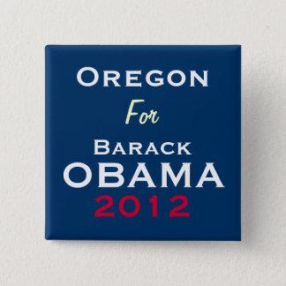 OREGON For OBAMA 2012 Campaign Button