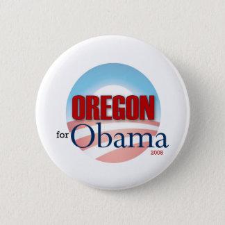 OREGON for Obama Pinback Button