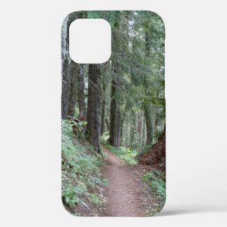 Oregon Forest Hiking Trail iPhone 12 Case