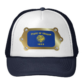 Oregon framed Flag Hat