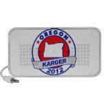 Oregon Fred Karger Altavoz De Viajar