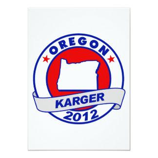 Oregon Fred Karger Card