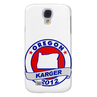 Oregon Fred Karger Galaxy S4 Covers
