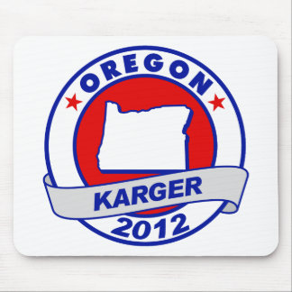 Oregon Fred Karger Mouse Pad