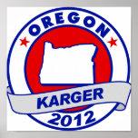 Oregon Fred Karger Poster