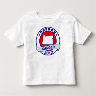 Oregon Fred Karger Toddler T-shirt