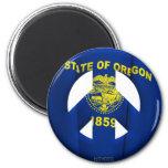 Oregon Fridge Magnet