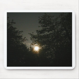 Oregon Full Moon in Spring Mouse Pad