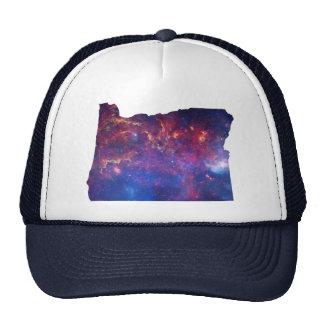 Oregon Galaxy Print Trucker Hat