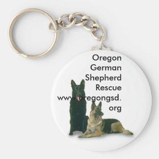 Oregon German Shepherd Rescue Keychain