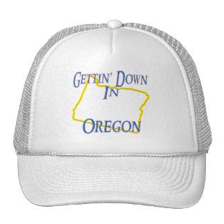 Oregon - Getting abajo Gorras De Camionero