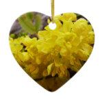 Oregon Grape Flowers Yellow Wildflowers Ceramic Ornament