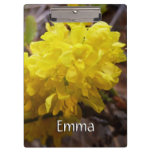 Oregon Grape Flowers Yellow Wildflowers Clipboard