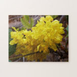 Oregon Grape Flowers Yellow Wildflowers Jigsaw Puzzle