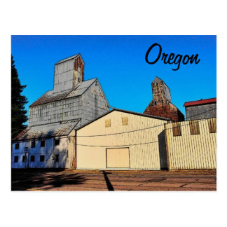 Oregon (Halsey) Postcard