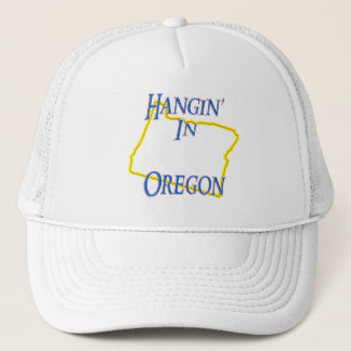 Oregon - Hangin' Trucker Hat
