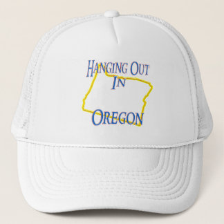 Oregon - Hanging Out Trucker Hat